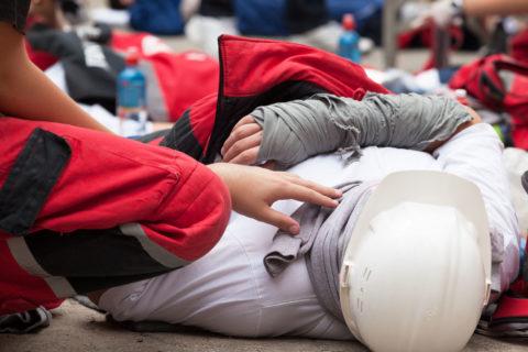 Shoulder injuries at work